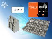Точилка двойная, металлическая, стальное лезвие (арт. TZ 40-2)