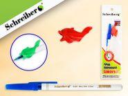 РУЧКА-САМОУЧКА шариковая, цвет чернил - СИНИЙ (РФ) (арт. S 325-1193)