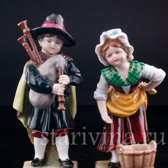 Изображение Дети, E & A Muller, Германия, 1890-1927 гг.