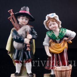 Дети, E & A Muller, Германия, 1890-1927 гг.