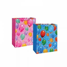 "Пакет подарочный бумажный, глянцевый ""Воздушные шары"", 45х31х14 см (арт. TZ 14044)"