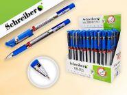 Ручка с чернилами на масляной основе 1200 МЕТРОВ, 0.7 mm, стержень - 135 мм, цвет чернил - СИНИЙ, корпус с метализированной запечаткой (арт. S 834)