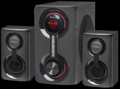 Акустическая 2.1 система Tornado 60Вт, Bluetooth, FM/MP3/SD/USB