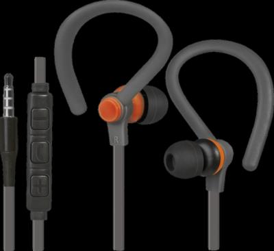 Гарнитура для смартфонов OutFit W760 серый+оранжевый, вставки