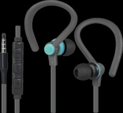 НОВИНКА. Гарнитура для смартфонов OutFit W760 серый+голубой, вставки