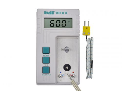 Измеритель температуры наконечника Pace 191 AD