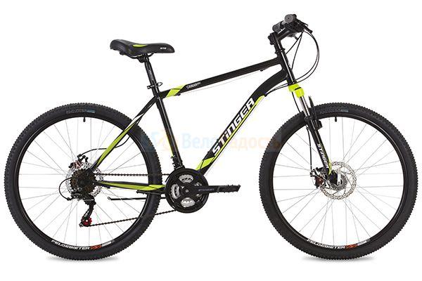 Велосипед горный Stinger Caiman D 26 (2019)