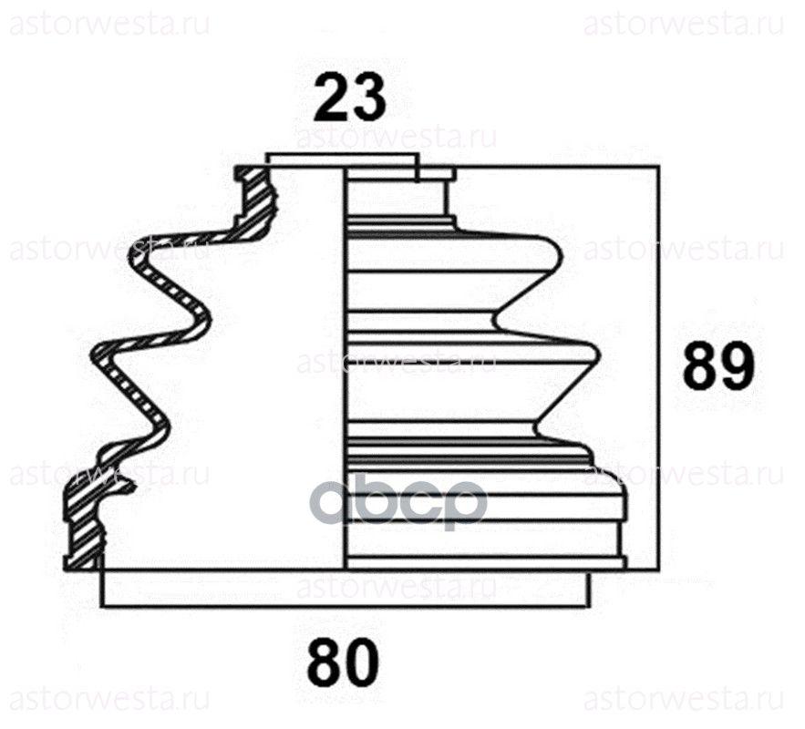 Пыльник привода наружный Avantech BD0503