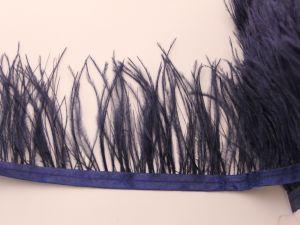 `Перо страуса 7-9 см на тесьме, цвет №042 (1уп = 20 см)