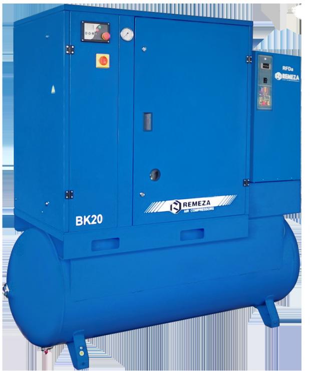 Винтовой компрессор  ВК20-8(10/15)-500ДВС