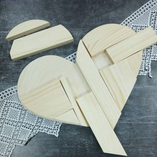 Панно ключница Сердце