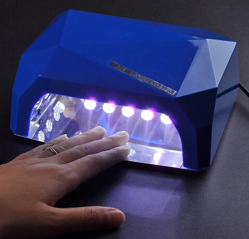Лампа Для Сушки Гель-Лаков Dimond CCFL/LED 36W