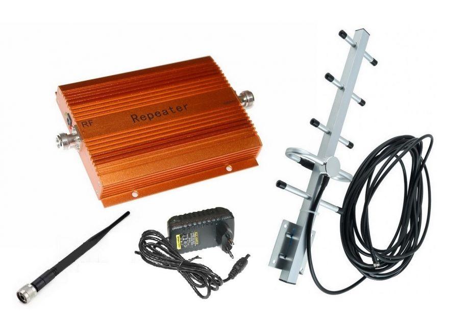 Усилитель сотового сигнала GSM Repeater TD-950 (200 м2) - комплект