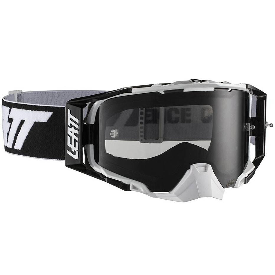 Leatt - 2019 Velocity 6.5 Black/White Smoke 34%, очки черно-белые