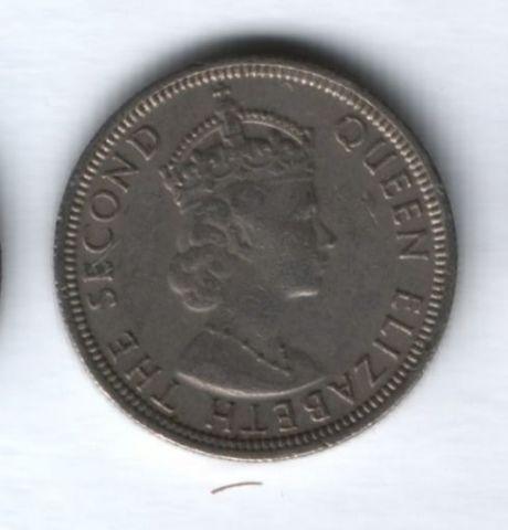 1/4 рупии 1975 года Маврикий