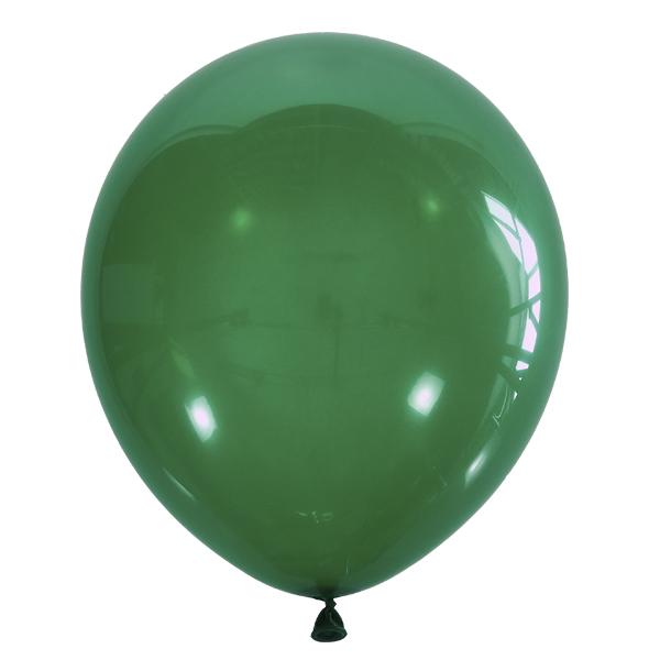 МИНИ изумрудный шар маленького размера с гелием