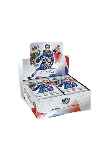 Хоккейные карточки КХЛ коллекция 11-го сезона 2018/19 50 пакетиков