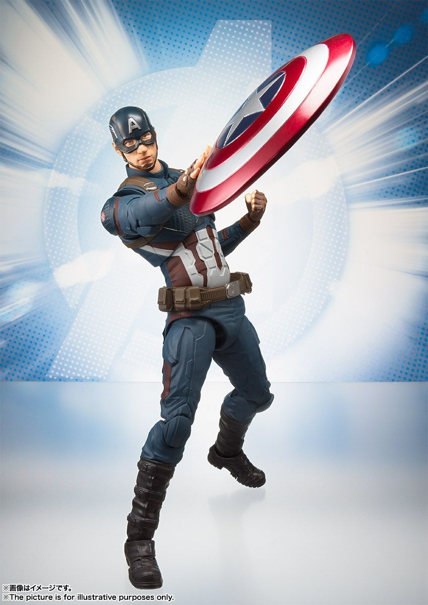 Фигурка Captain America Капитан Америка (Avengers: Endgame)