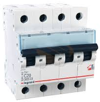 403905 Авт.выключатель TX3 B32A 4П 6000/10kA Legrand