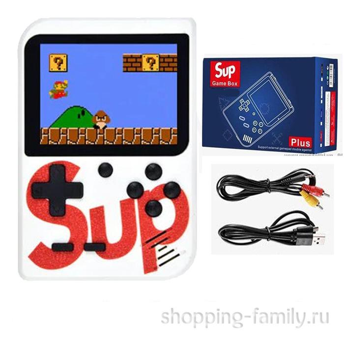 Игровая консоль Sup Game Box 400 in 1, цвет белый