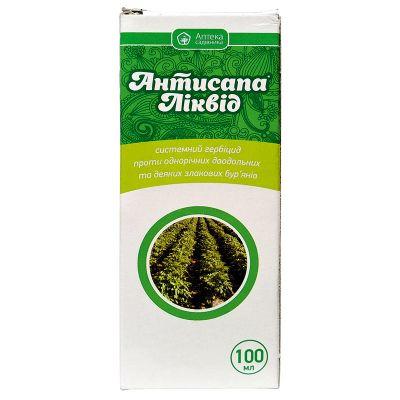 """Гербицид """"Антисапа Ликвид"""" (100 мл) от Ukravit"""