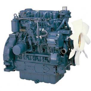 Дизельный двигатель Kubota V3600