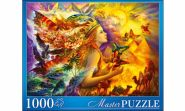 Masterpuzzle. ПАЗЛЫ 1000 элементов. НАДЕЖДА СТРЕЛКИНА. ФАНТАСТИЧЕСКИЙ МИР (арт. МГМП1000-6921)