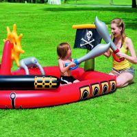 """Игровой бассейн """"Пираты"""" с брызгалкой и аксессуарами 190 х 140 х 96 см, 212 л."""