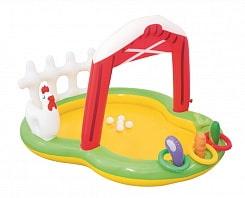"""Игровой бассейн """"Ферма"""" с брызгалкой и аксессуарами 175 х 147 х 102 см, 121 л."""