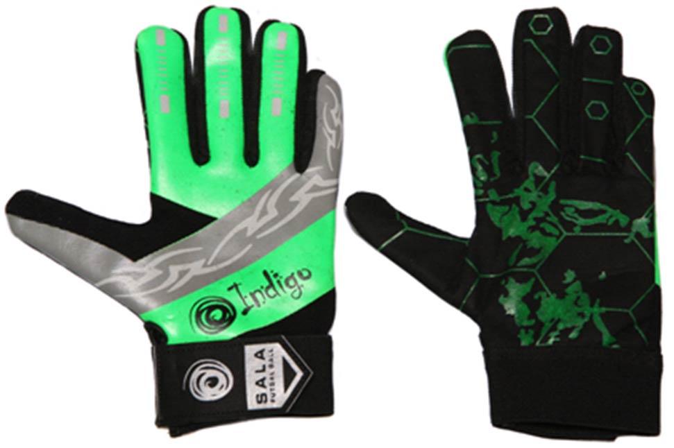 Перчатки вратарские футзальные INDIGO 200022