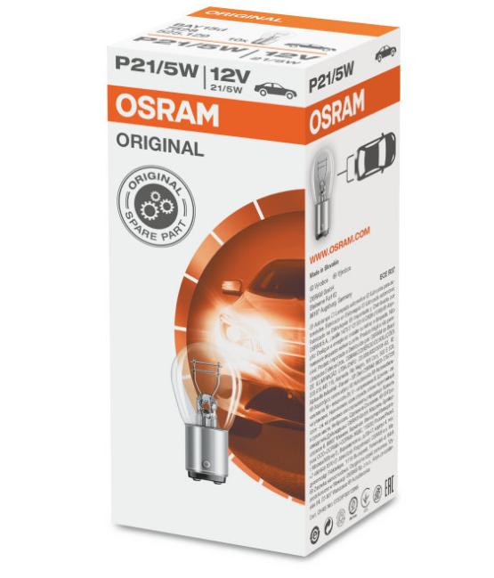 Лампа 12V P21/5W 7528 12bay15d