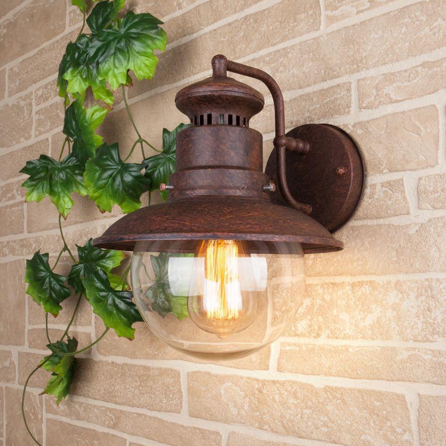 Уличный настенный светильник Elektrostandard Talli D GL 3002D брауни