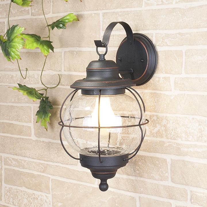 Уличный настенный светильник Elektrostandard GLXT-1475D Regul D черная медь