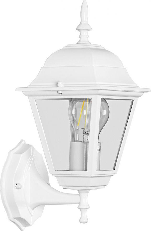 Светильник садово-парковый Feron 4101 четырехгранный на стену вверх