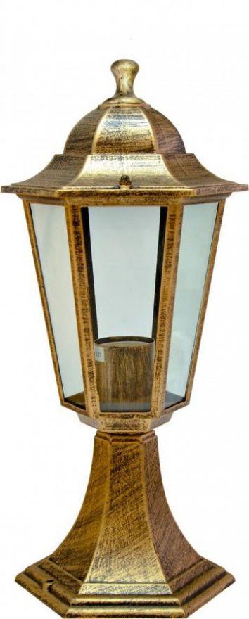 Светильник садово-парковый Feron 6104 шестигранный на постамент