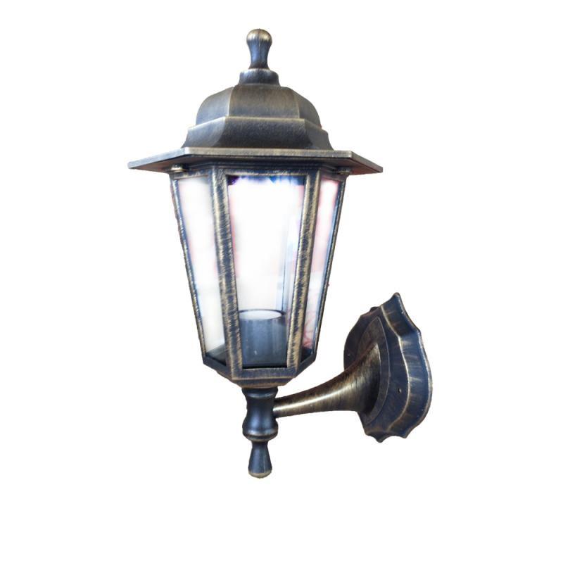 Садово-парковый светильник ЭЛЕКТ НБУ Леда1 E27 60W 35х20 бронза IP44