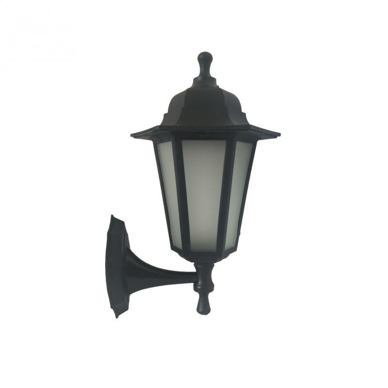 Садово-парковый светильник ЭЛЕКТ НБУ Леда1 E27 60W 35х20 черный IP44