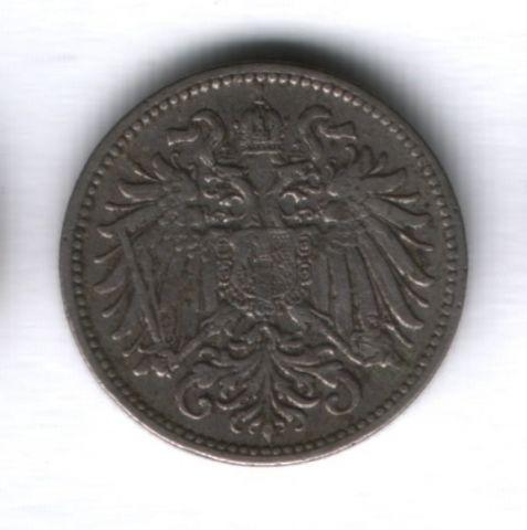 10 геллеров 1895 года Австро-Венгрия