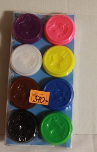 ! застывающий пластилин 8шт по30гр, ячейка: 12