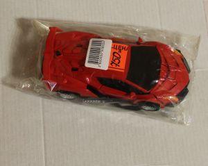 ! машина трансформер красн металл, ячейка: 27
