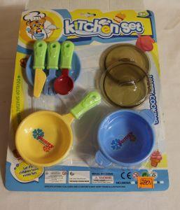 ! набор посуды на картоне, ячейка: 39