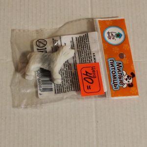 ! щенок бел 3,5см флок, ячейка: 49