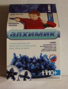 ! выращивание кристаллов синий, ячейка: 54