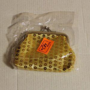 ! кошелек блест желт, ячейка: 57