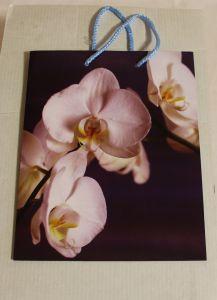! пакет с ручками орхидея 23*18см, ячейка: 62