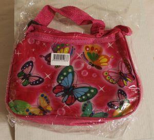 ! сумка детс бабочки длин руч пласт, ячейка: 71
