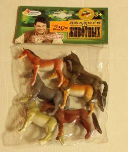 ! набор 6 лошад, ячейка: 77