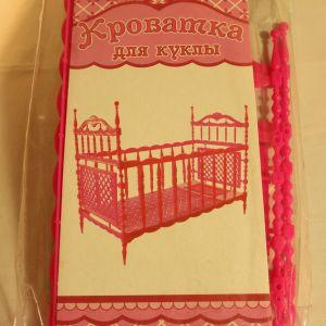 ! кровать д/куклы 35см, ячейка: 79