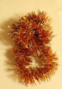 ! мишура 4.5см 1м оранж, ячейка: 97