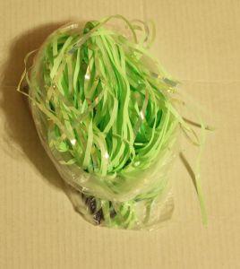 ! дождик 9см 90см неон салат 1, ячейка: 97